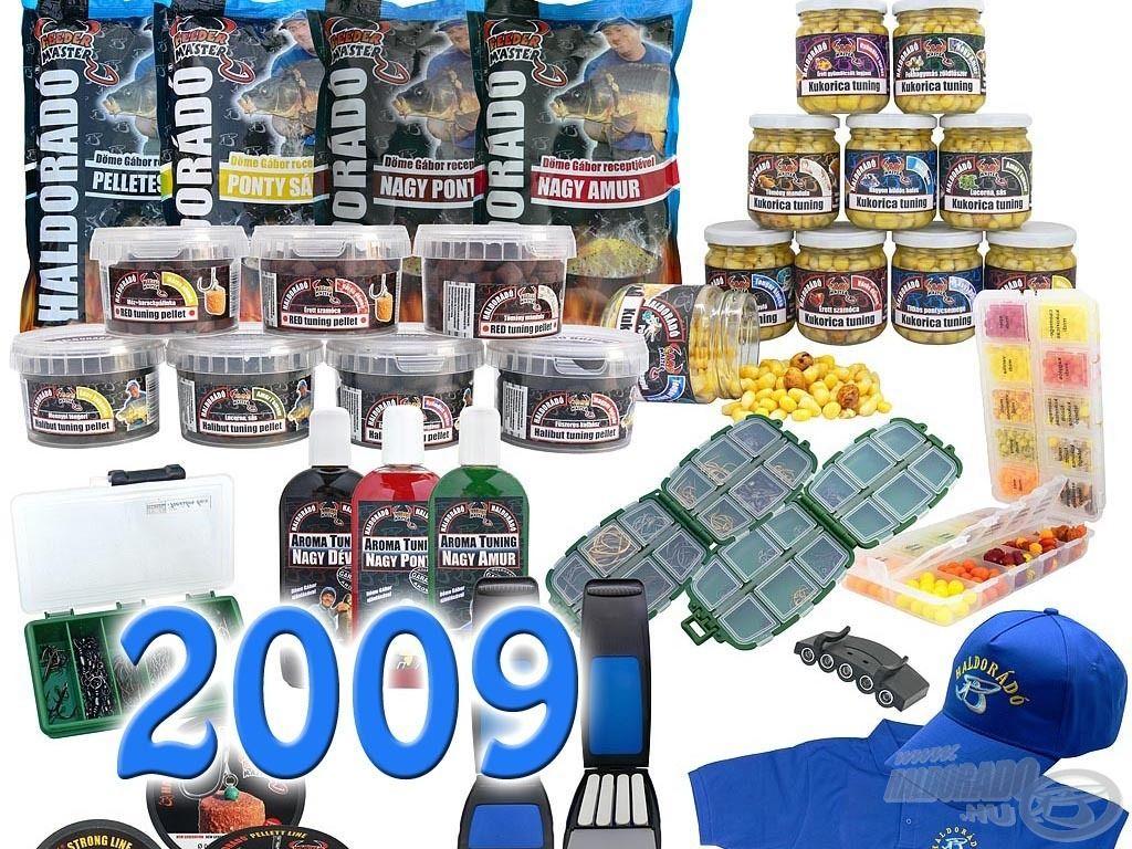 2009-ben hirdettük meg először a Légy a teszthorgászunk! pályázati felhívást, melyben Haldorádó termékekkel kapcsolatos horgász élménybeszámolókat vártunk a látogatóinktól