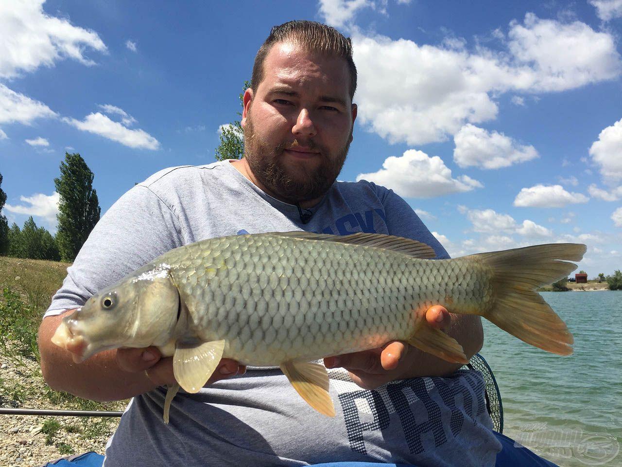 … a ponty horgászata során