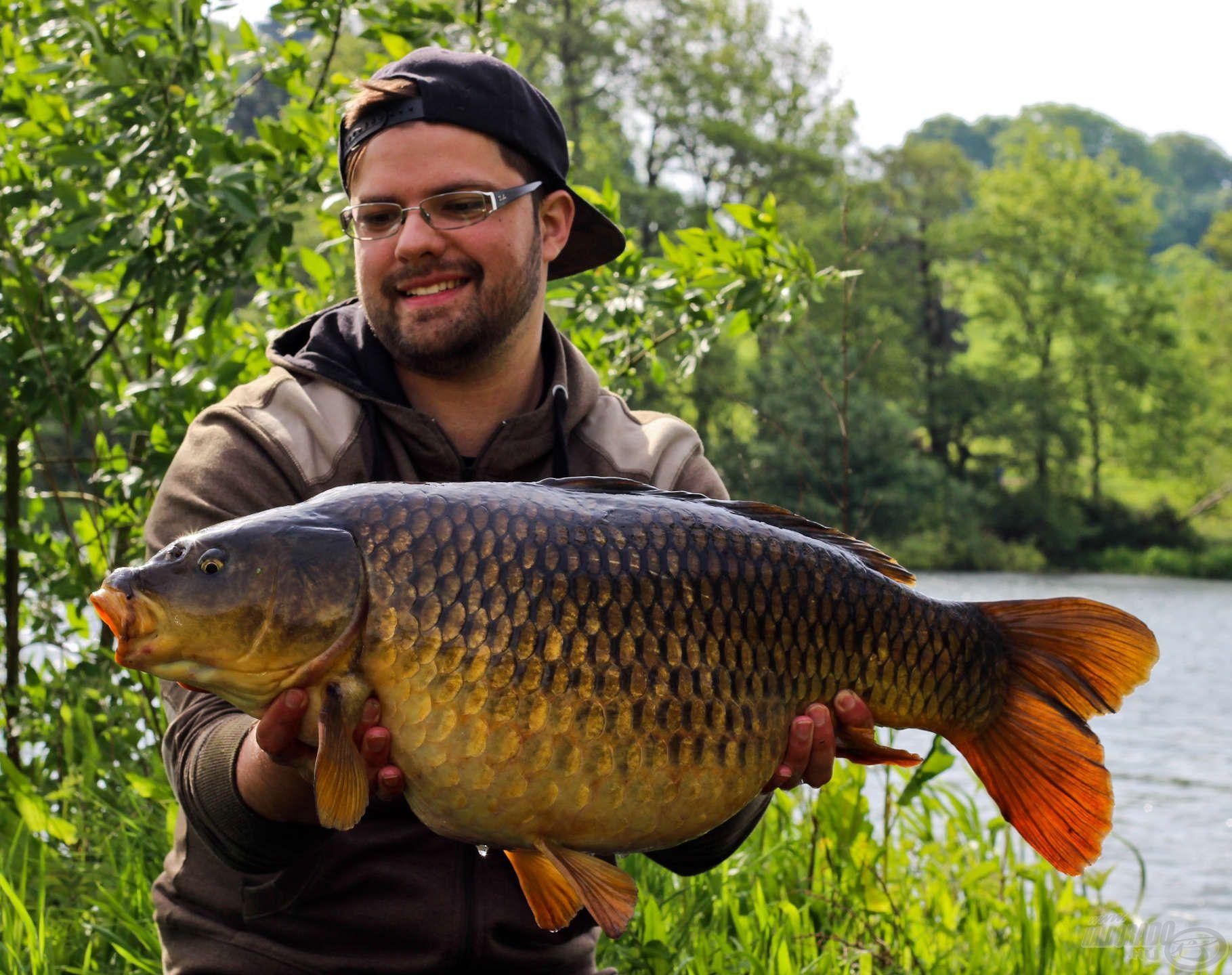 Ez a szép töves nem bírt ellenállni a Big Fish kombinációnak