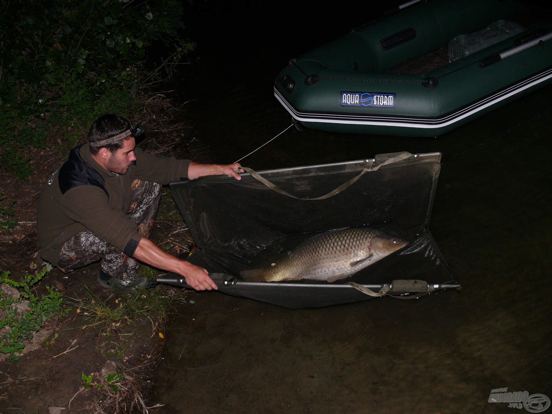 A kíméletes bánásmód minden halnak jár, mérettől függetlenül!
