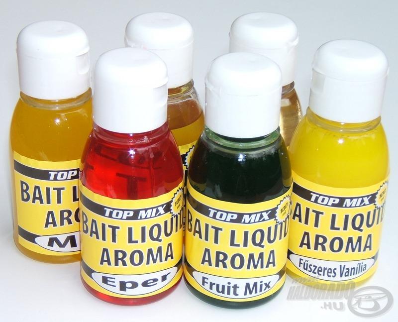 A Bait Liquid aromacsaládnak 14 kiváló tagja van