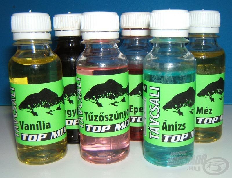 A hatféle aroma együttese