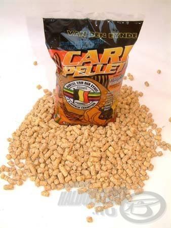A Van Den Eynde kukorica pelletje szárított csemegekukoricából készül