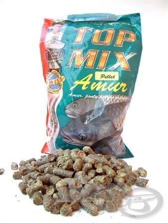 A Top Mix lucerna granulátumot imádják az amurok