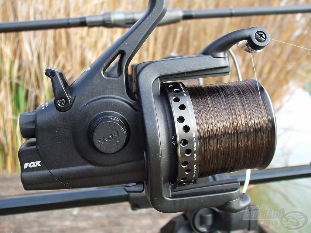 Az amur eredményes horgászatnál nagyon fontos a tökéletes fékrendszerű nyeletőfékes orsó