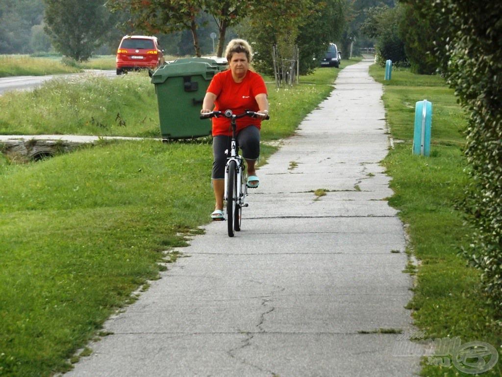 Ha már hoztunk kerékpárt, hát használjuk is!