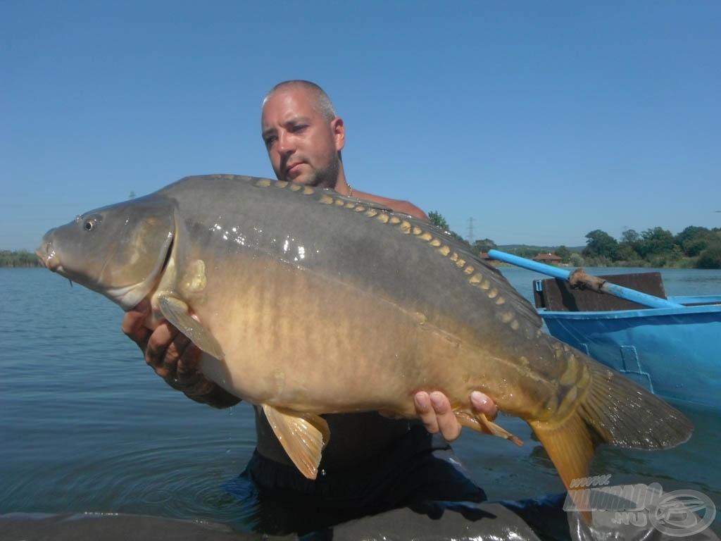 Búcsú a túra halától… 15,20 kg