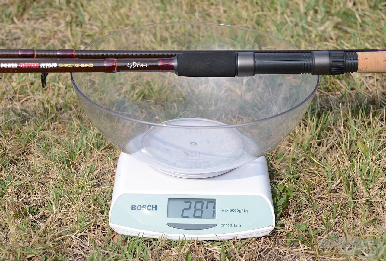 … az új típus súlya viszont már csak 287 gramm, így még könnyebben kezelhető elődjénél!