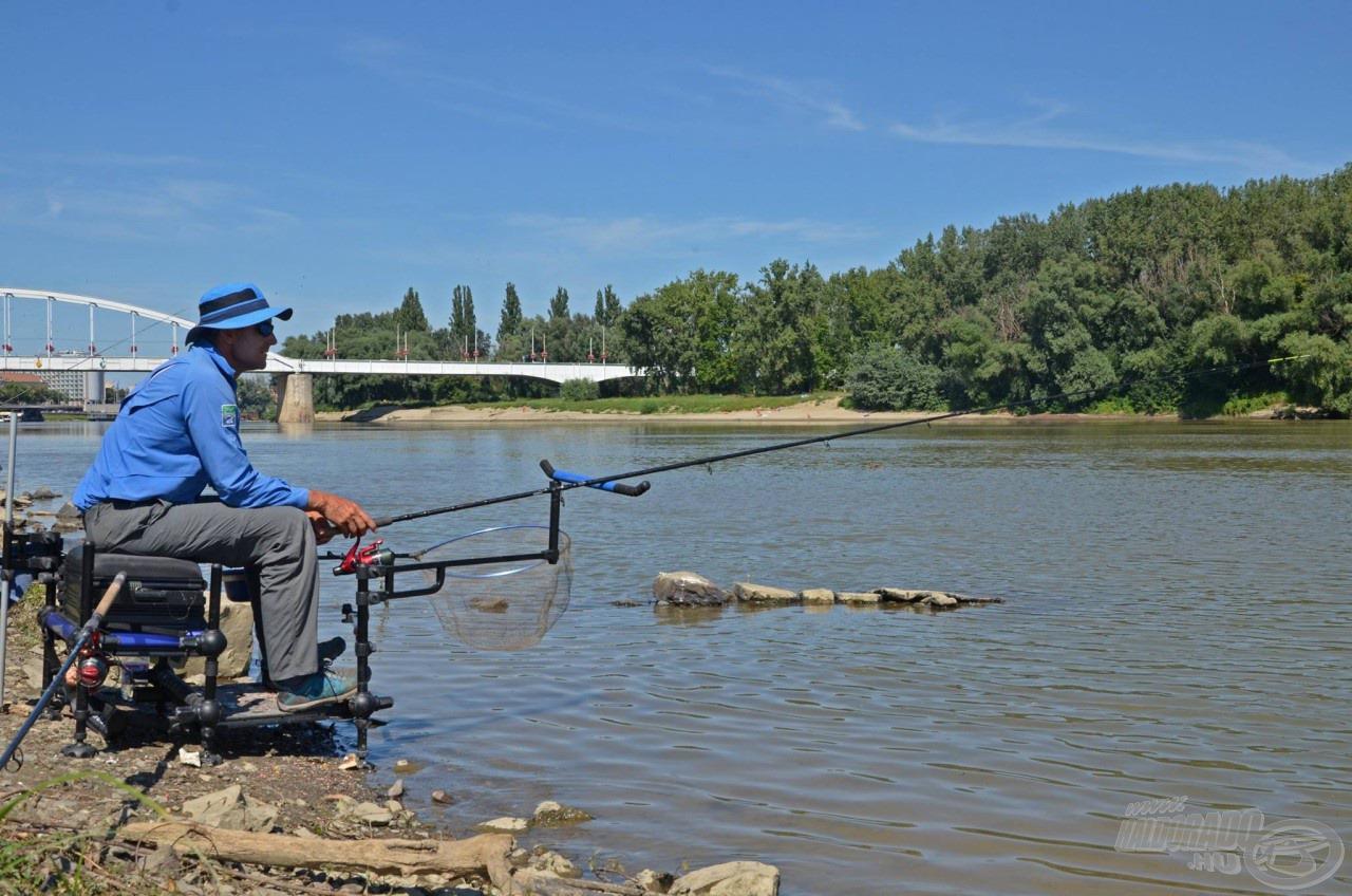 … mely maximálisan helytáll a legvadabb folyóvizek horgászata során is, amikor az átlagosnál sokkal nagyobb össztömegű végszereléket kell a vízbe juttatni