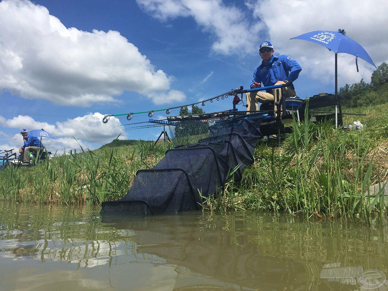 Ahogy nő a meghorgászandó távolság, ahogy nő a halak ereje és mérete, valamint a végszerelék össztömege, úgy kell egyre hosszabb és erősebb feederbotokhoz nyúlni