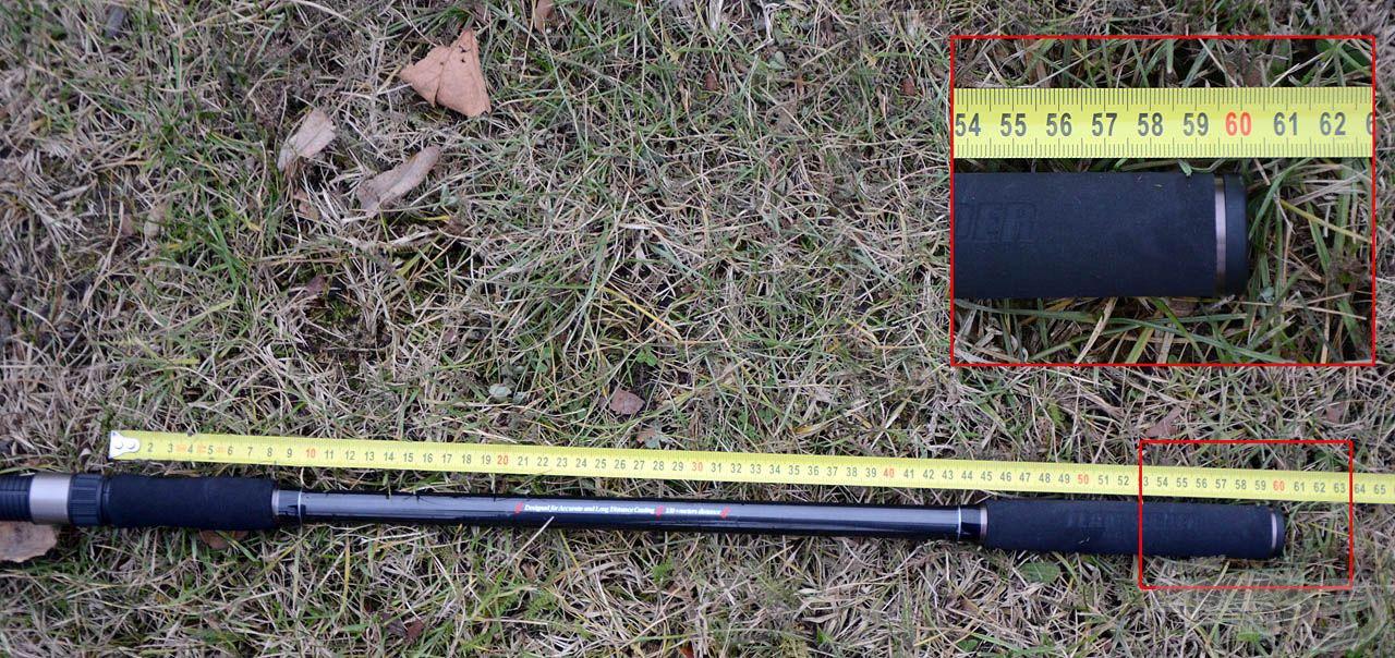 … míg a Master Carp Pro 420LC feederbot már 60 cm-es hosszal, ezáltal jóval nagyobb erőkarral rendelkezik