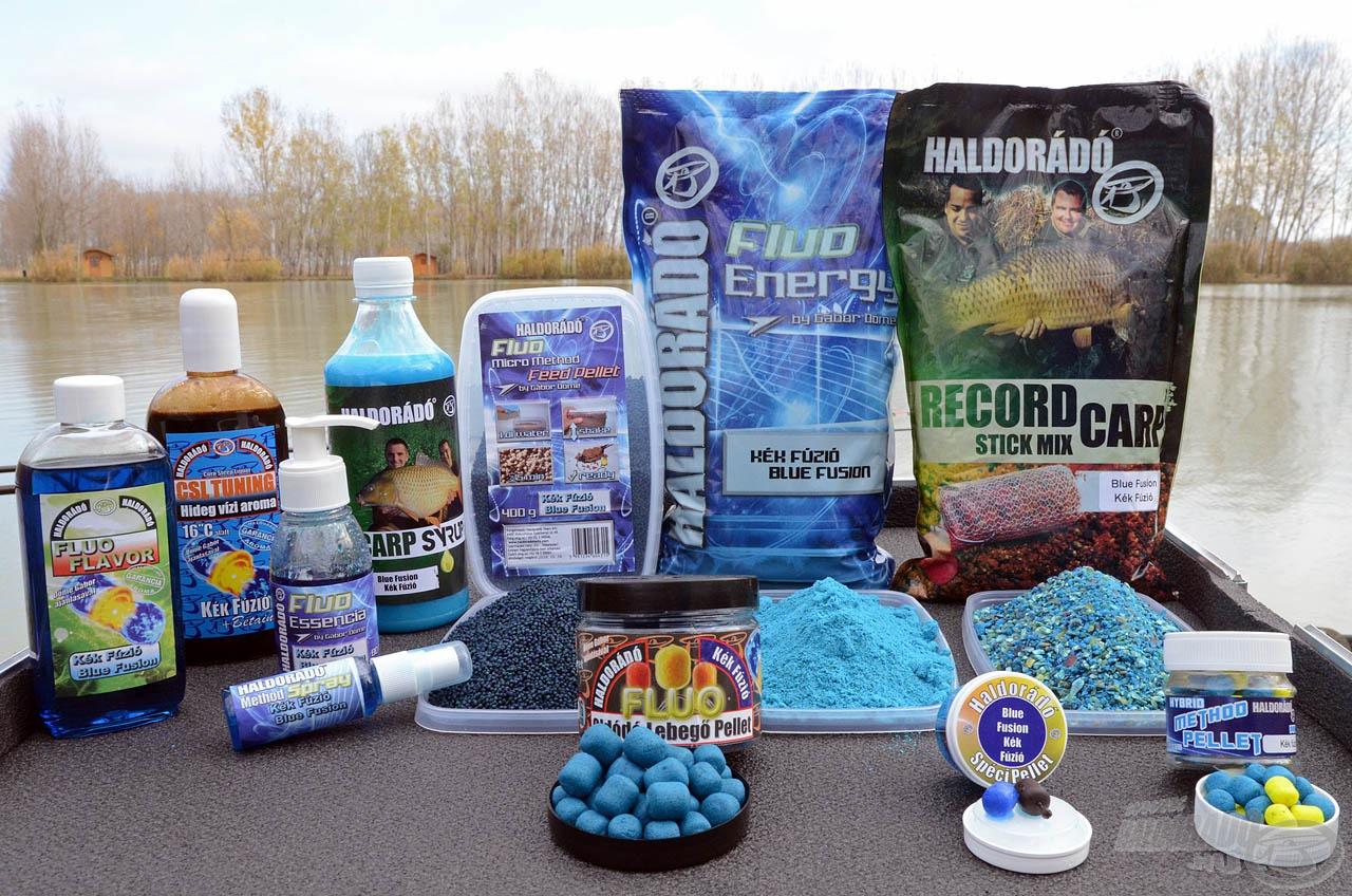 A kibővült Kék Fúzió termékcsalád hamarosan újabb különleges csalikkal, valamint komplett etetőanyag- és aromaprogramokkal fog segítséget nyújtani a horgászoknak!