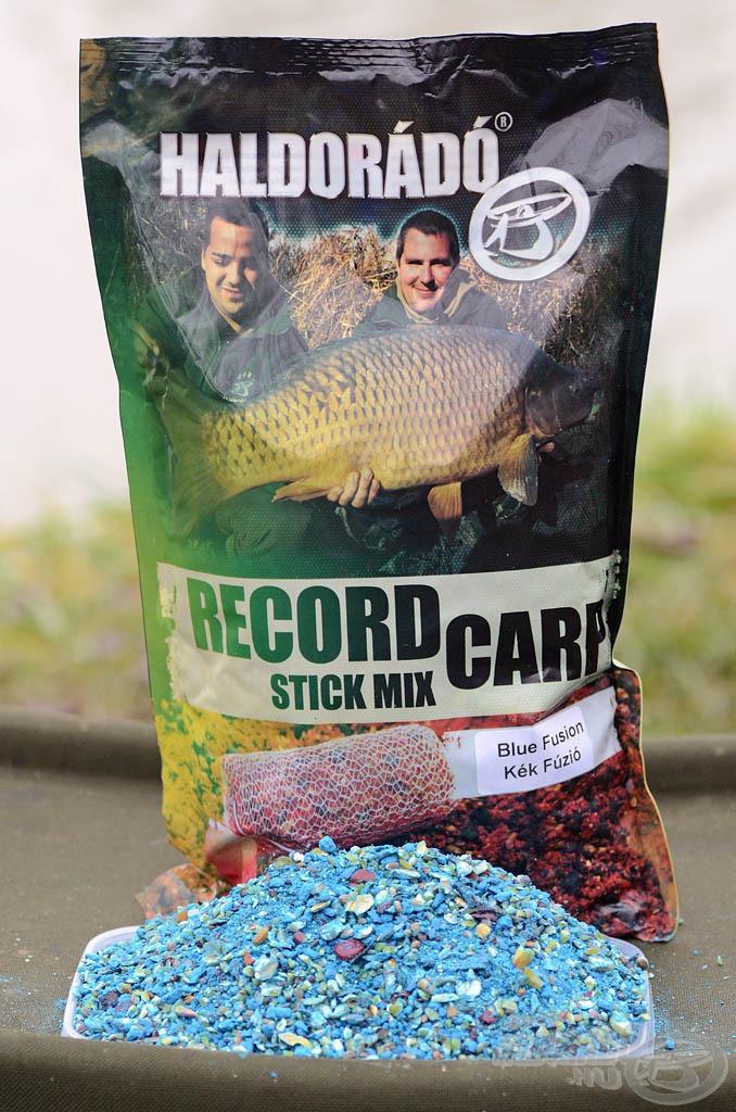 A Haldorádó Carp termékpaletta 2017-es bomba újdonságai közé tartozik a Record Carp Stick Mix, mely a nagyhalas feederhorgászatban is nagyszerű lehetőségeket kínál