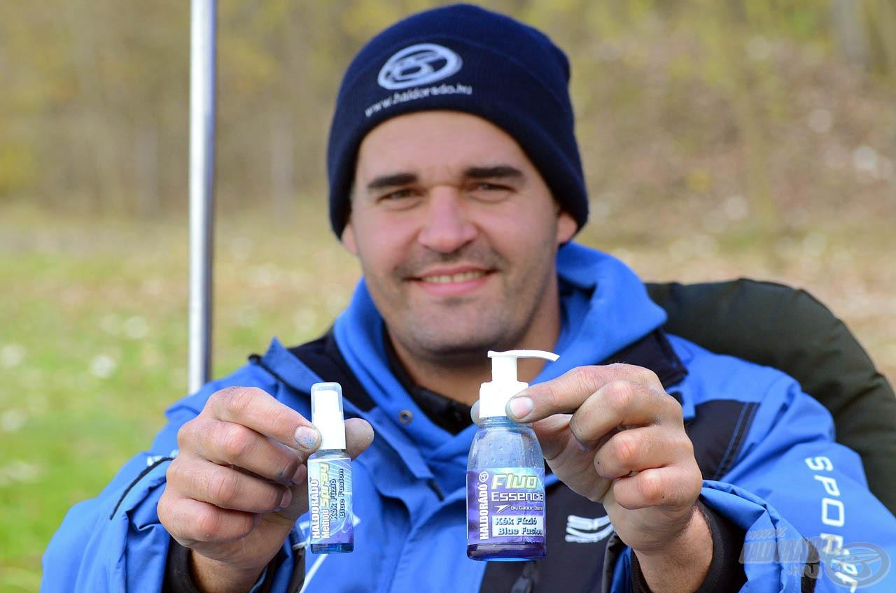 A Kék Fúzió Fluo Essencia és Method Spray aromák speciális pumpás flakonokban kerülnek forgalomba, azonban két totálisan eltérő folyadékról van szó!