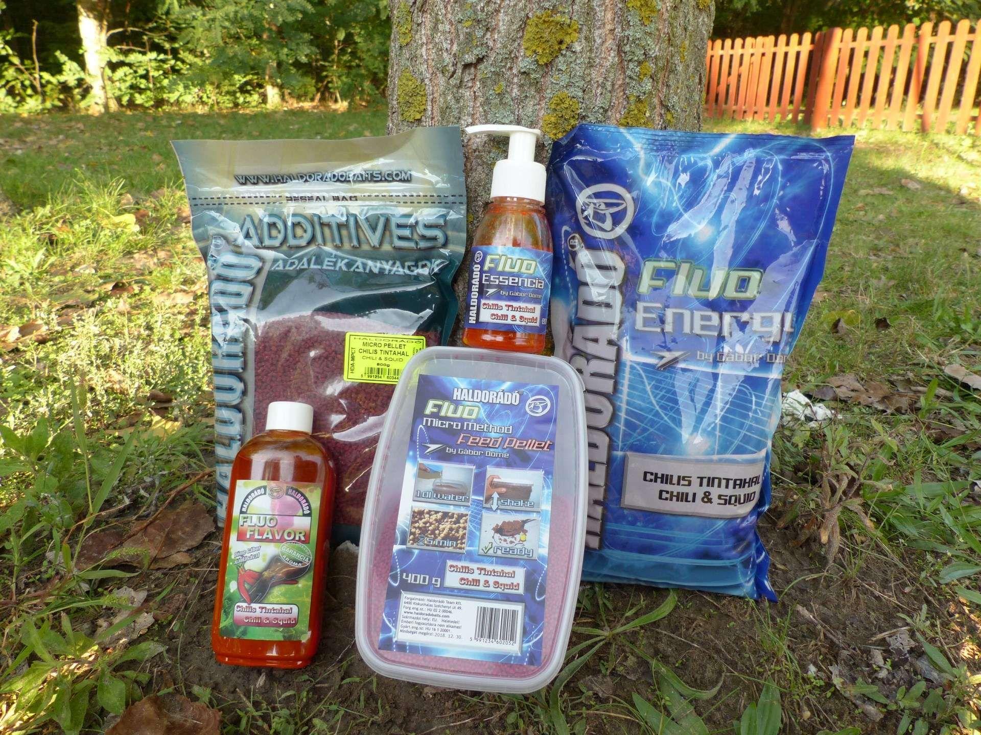 Gondosan összeválogatott csípős Chilis Tintahal csalogatóanyagok az őszi horgászatokhoz (is)