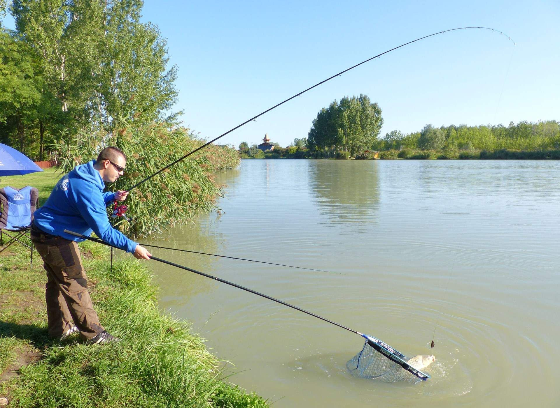 … így egy rendkívül mozgalmas horgászatban volt részem…