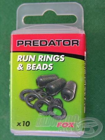 A bojlis felszerelések közt is találunk ilyet (Run Ring System), de a mi céljainkra a Predator szériában található kiszerelés gazdaságosabb