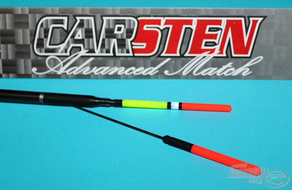 Az úszó két antennával, egy vastagabb multicolor és egy érzékeny vékony dévéres karbon száras változattal kerül forgalomba
