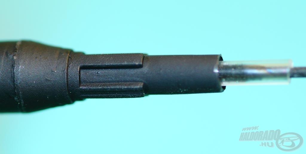 A beépített adapter lehetővé teszi többféle antenna használatát is