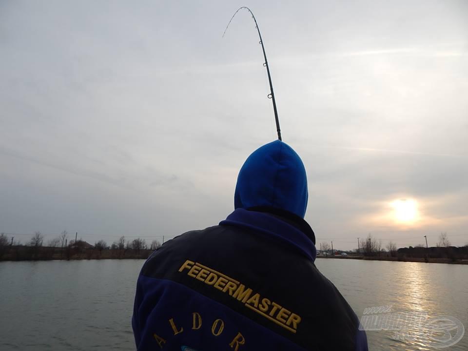 Jó halat ütöttem a nap végén, kezdődhetett a fárasztás