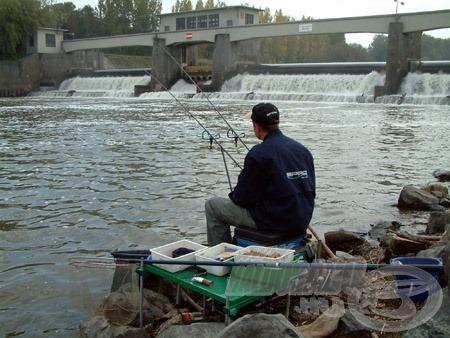 A nicki műgát környéke egész évben tartogathat meglepetéseket a horgászok számára