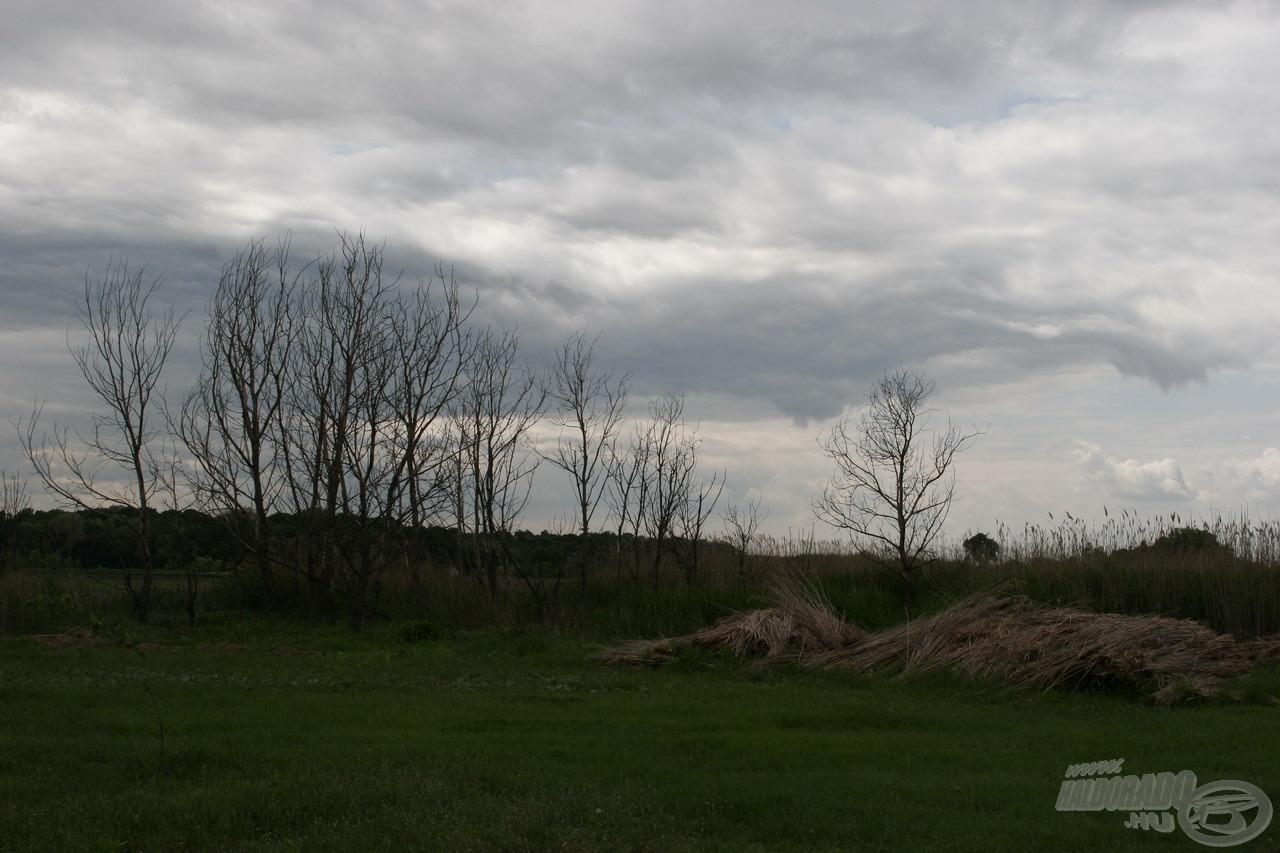 A délután óráira balsejtelmes szürkeségbe borult az égbolt