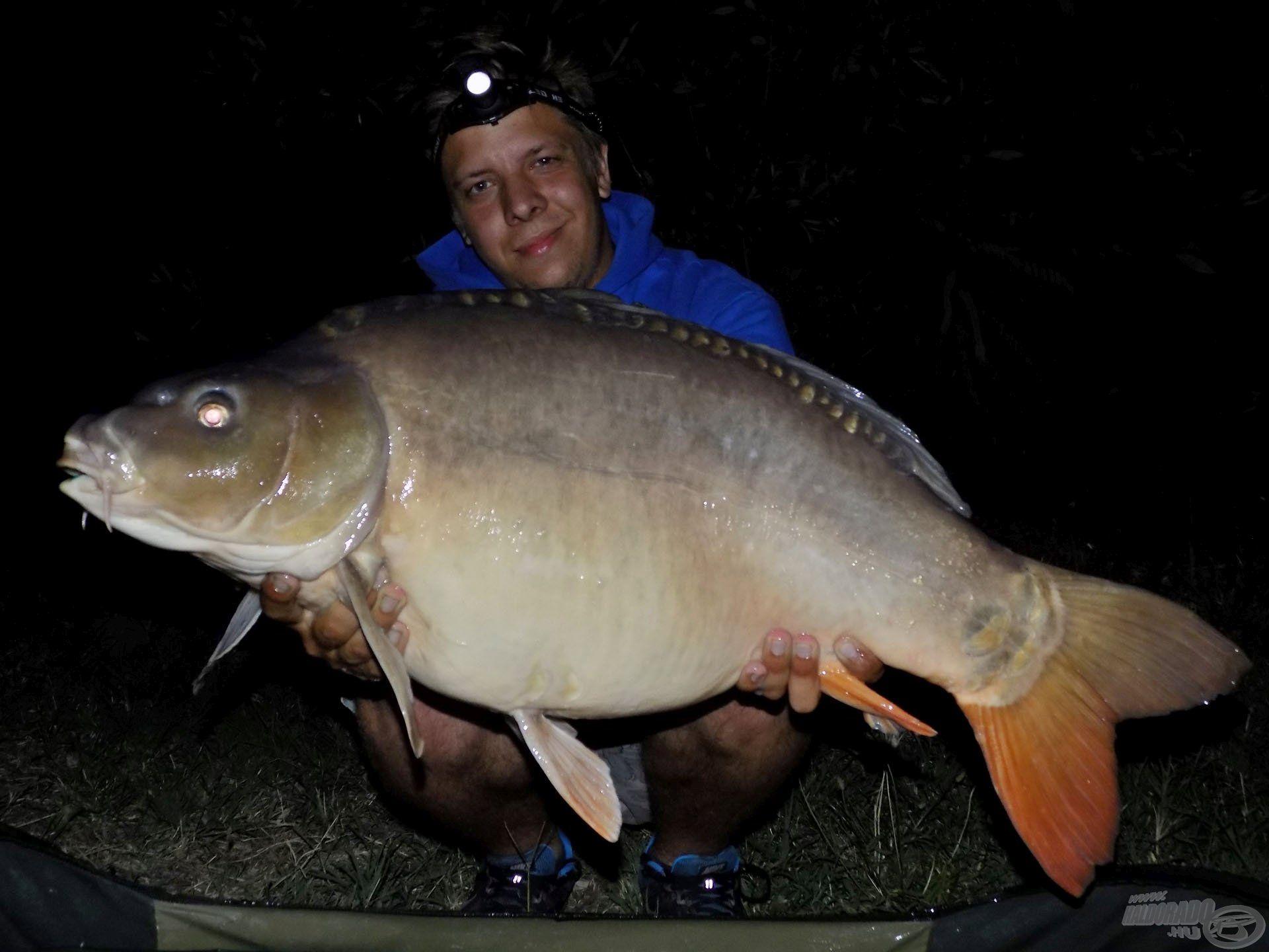 Az éjszakai órákban végre 10 kg feletti halakkal sikerült már pózolnom. Erejük lenyűgöző volt, legyen szó tükörpontyról…