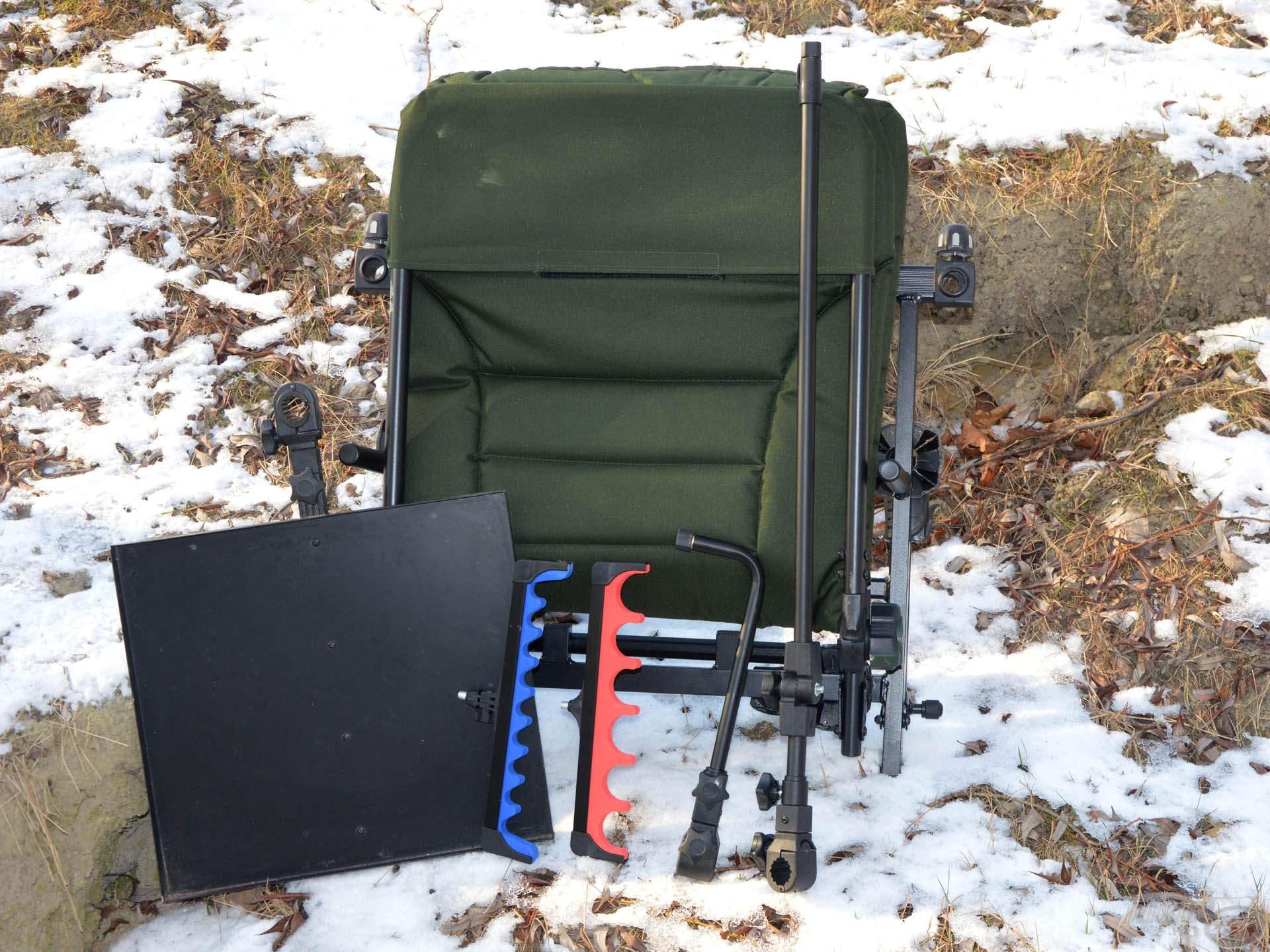 Mindössze ennyi felszerelés elég ahhoz, hogy egy igazán kényelmes, stabil és praktikus horgászállást tudjunk felállítani