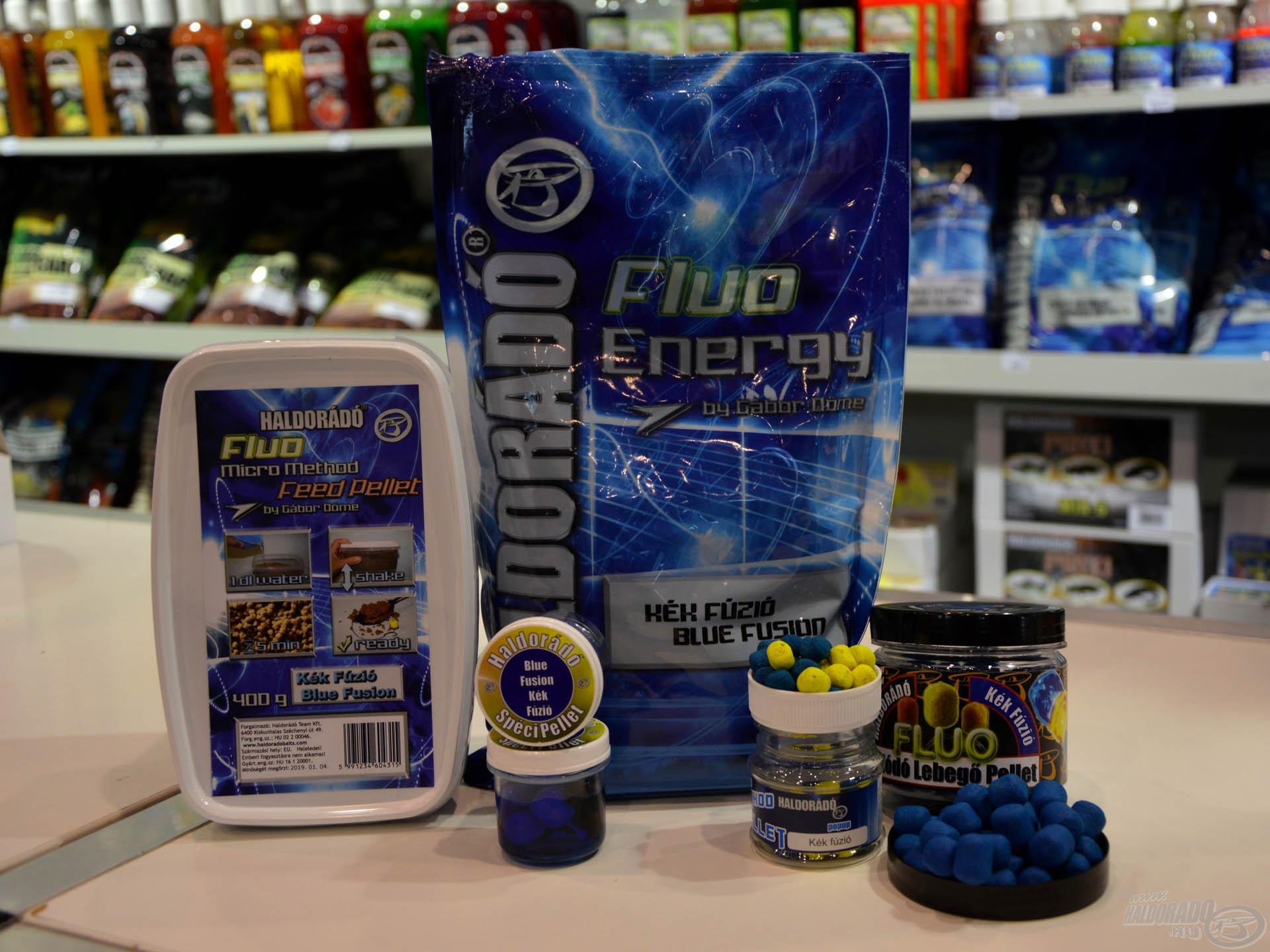 A Kék Fúzió feederes termékeit sokan fogják már az első horgászatukon bevetni