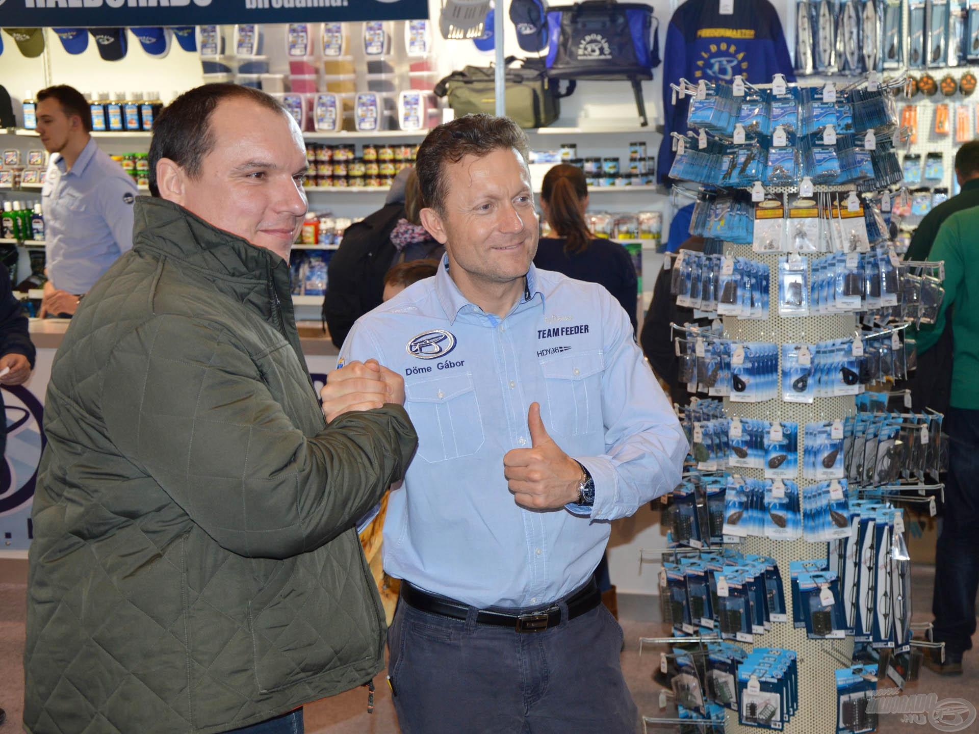 """Döme Gábor: """"A horgászok elégedettsége és kiemelt figyelme a legnagyobb motiváció"""""""
