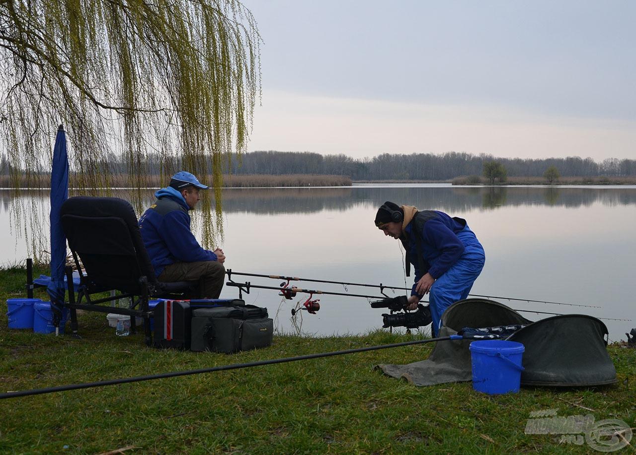 A horgászatról film is készült. Az itt kitapasztalt és bemutatásra váró praktikák a hasonló jellegű vizek mindegyikén eredményes lehetnek!