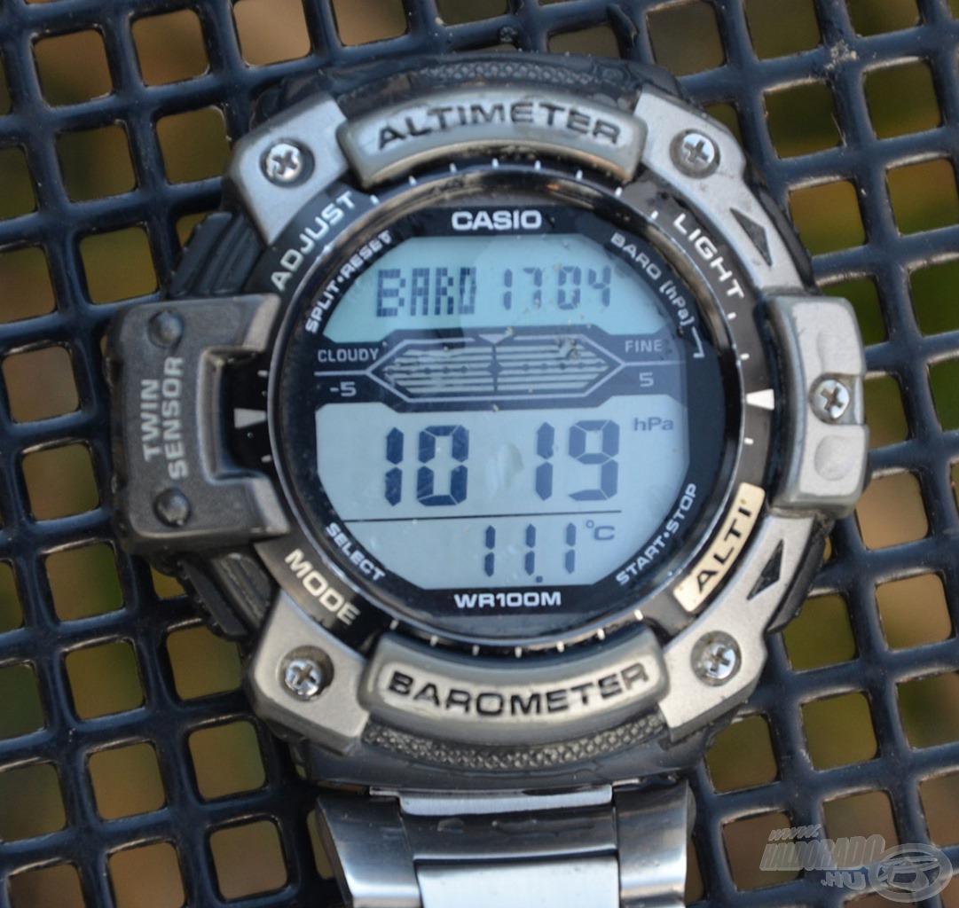A horgászat napján a víz még csak 11 Celsius-fokos volt