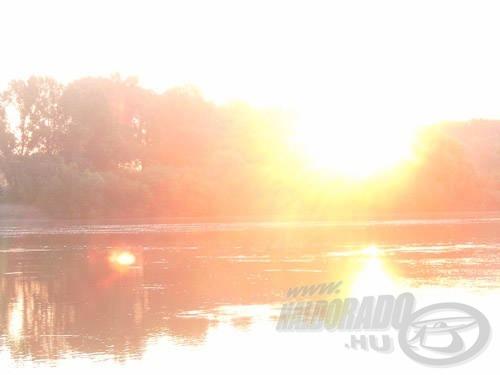 … hanem a napfelkelte is gyönyörű!
