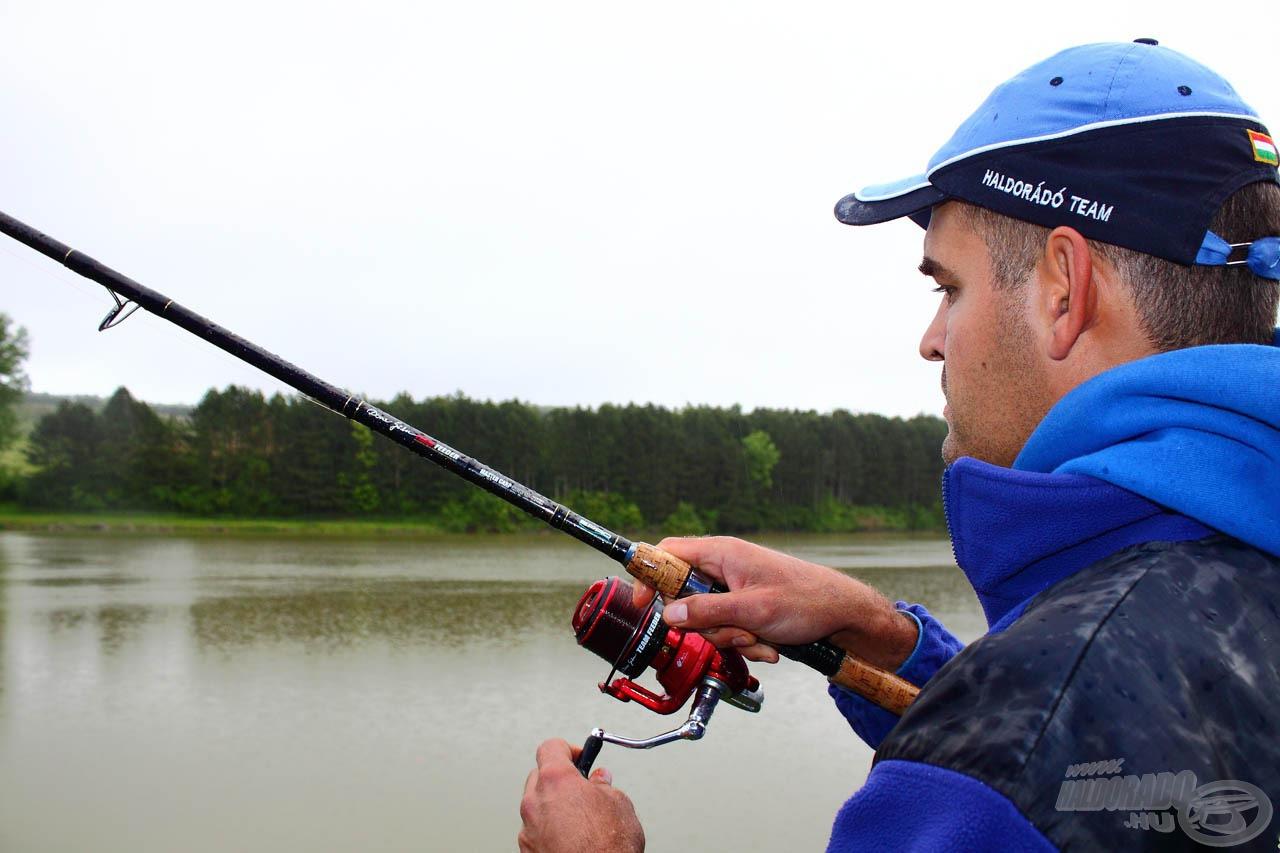 Fárasztás közben egy kicsi hiba is végzetes lehet, így a horgásznak és a felszerelésnek összhangban kell lennie
