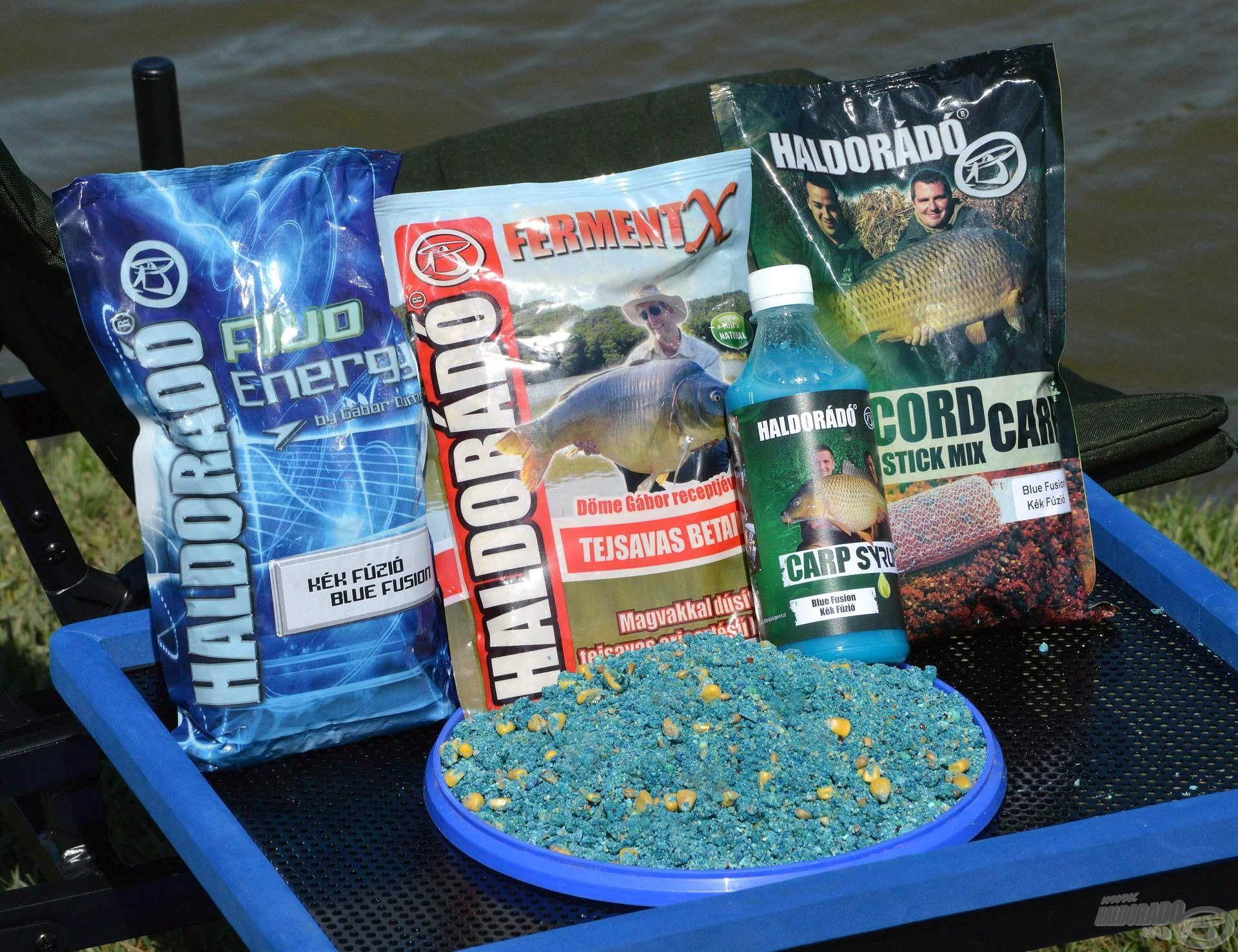 A FermentX és a Kék Fúzió kombinációja igazán különleges és fogós nyári etetőanyagot eredményez