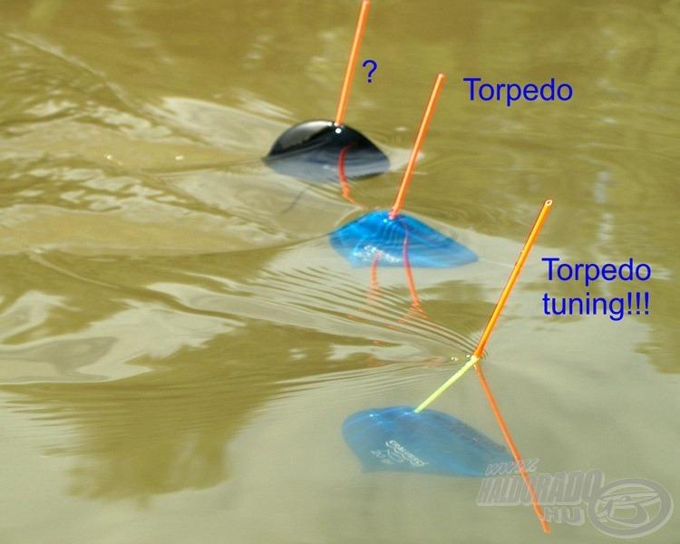 A Cralusso Torpedo Tuning úszó forradalmasította a folyóvízi horgászatot