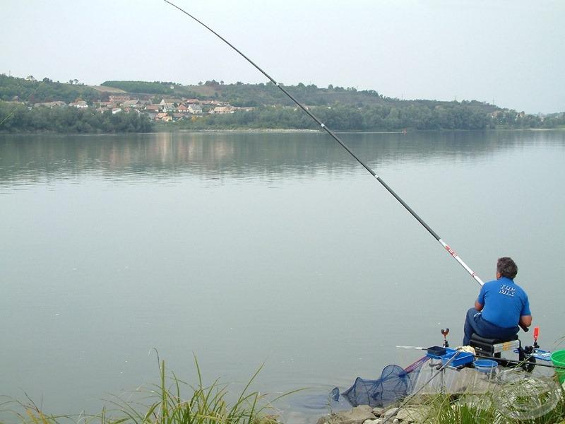 Horgon a márna, irány a Duna közepe!