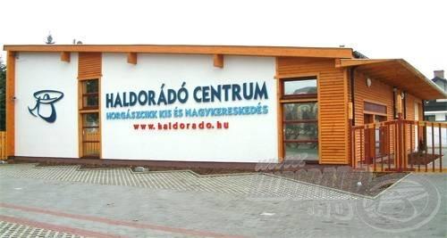A HALDORÁDÓ CENTRUM így néz ki kívülről