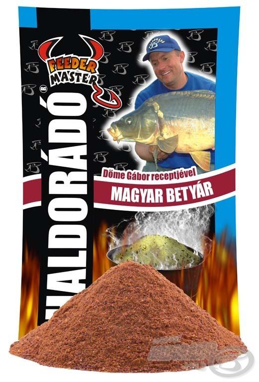 A Magyar Betyár etetőanyag remekül alkalmazkodik a modern feederbotos horgászat maximális elvárásaihoz