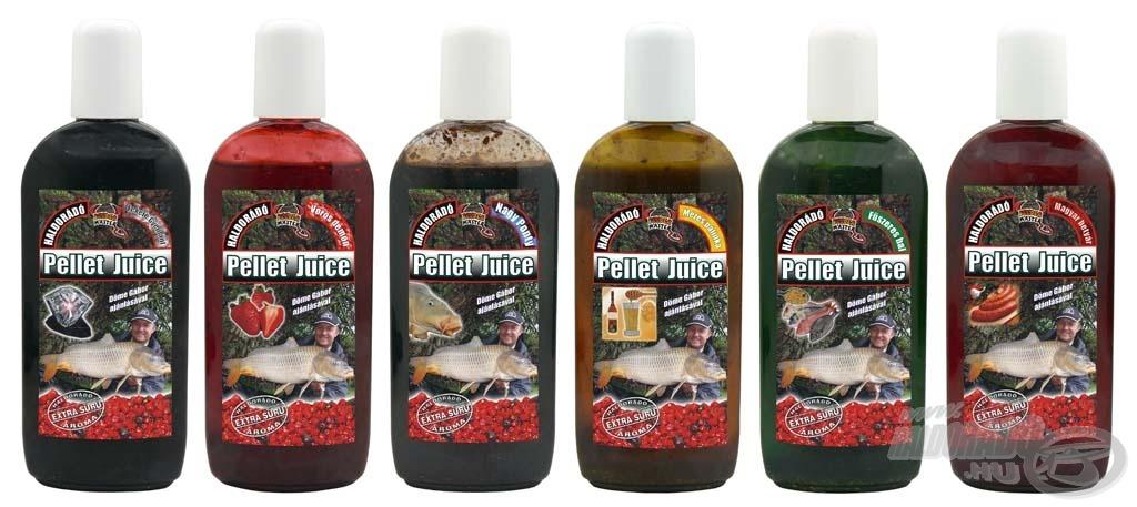 A legsűrűbb és legértékesebb aroma Pellet Juice