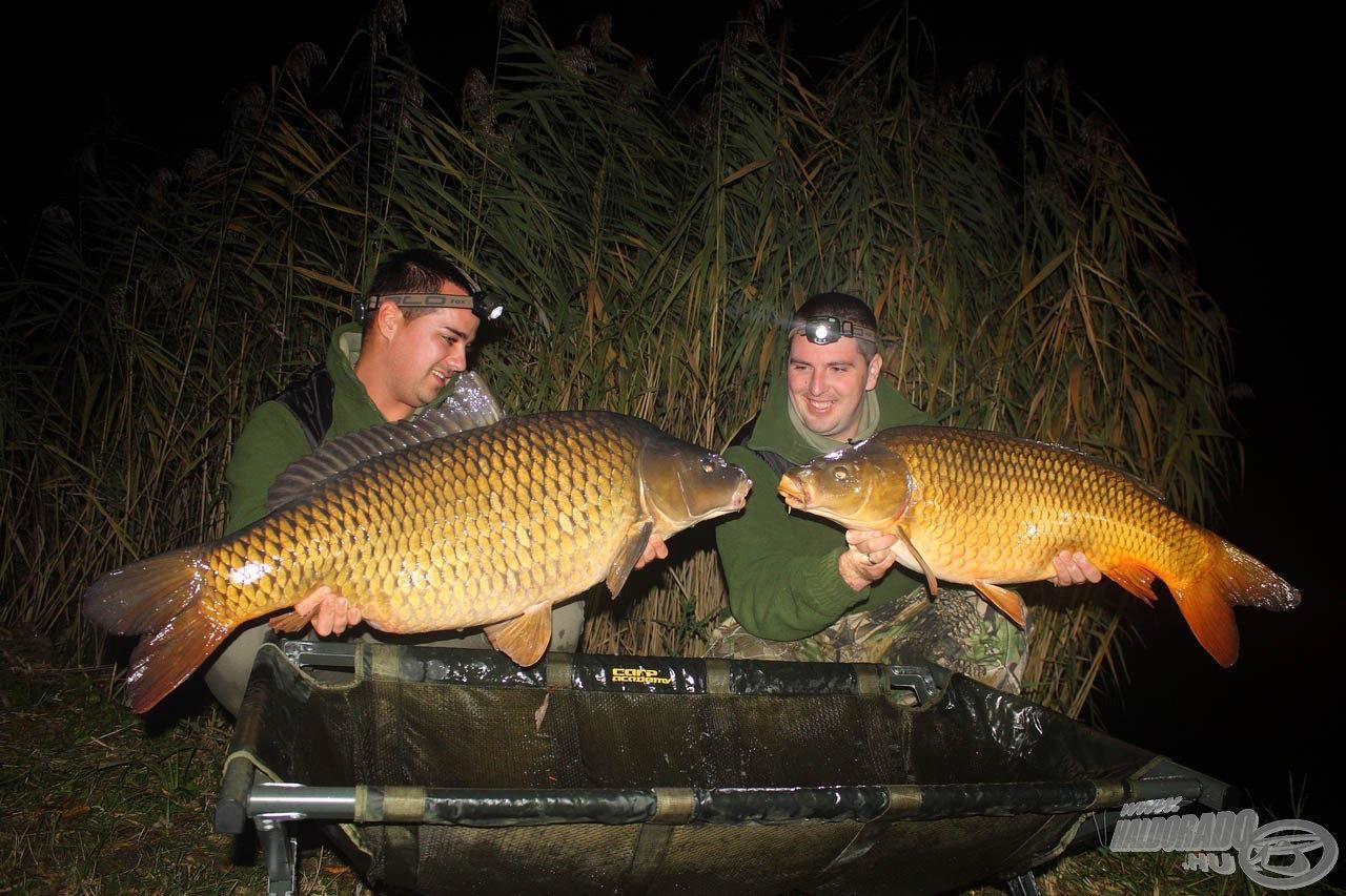 A Stick Mix keverékek fogósságára az egyik legjobb példa Tamás és Ernő őszi túrája a Lőrintei-tavon, ahol kereső technikával fogtak csodálatos halakat