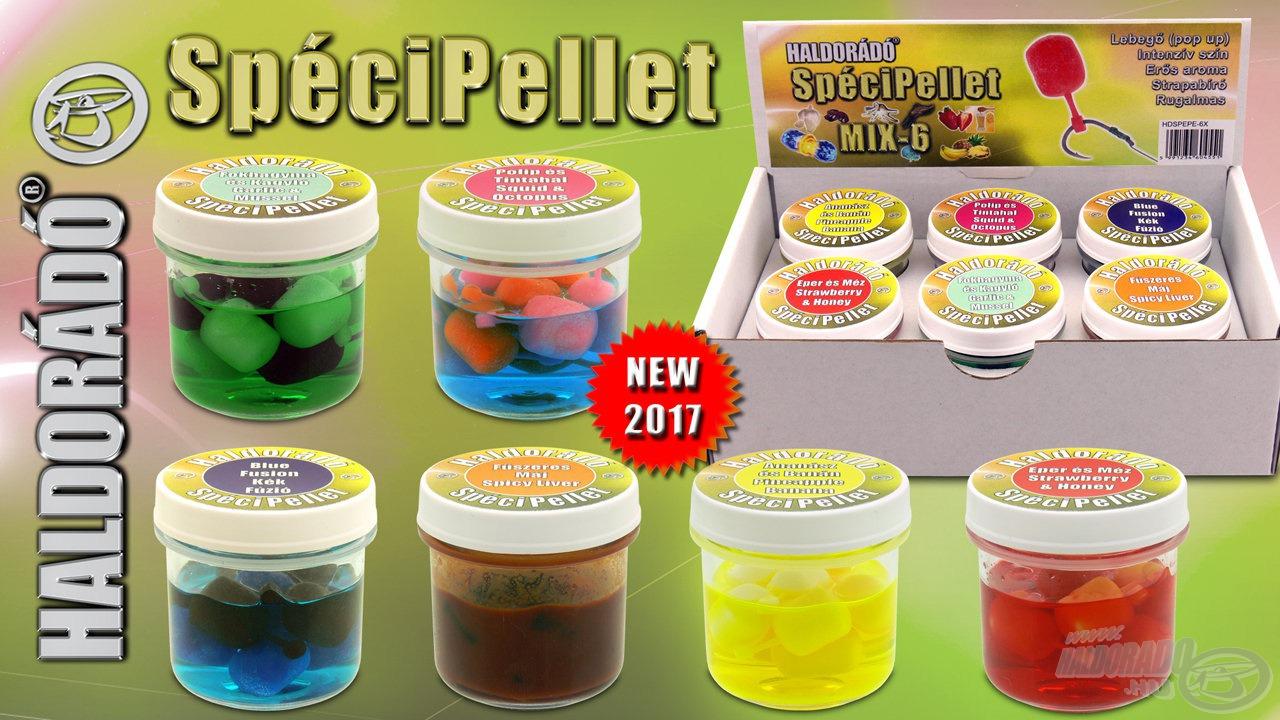 A SpéciPellet termékcsalád új generációs csali-imitációk szortimentjét és lehetőségek bőséges tárházát vonultatja fel