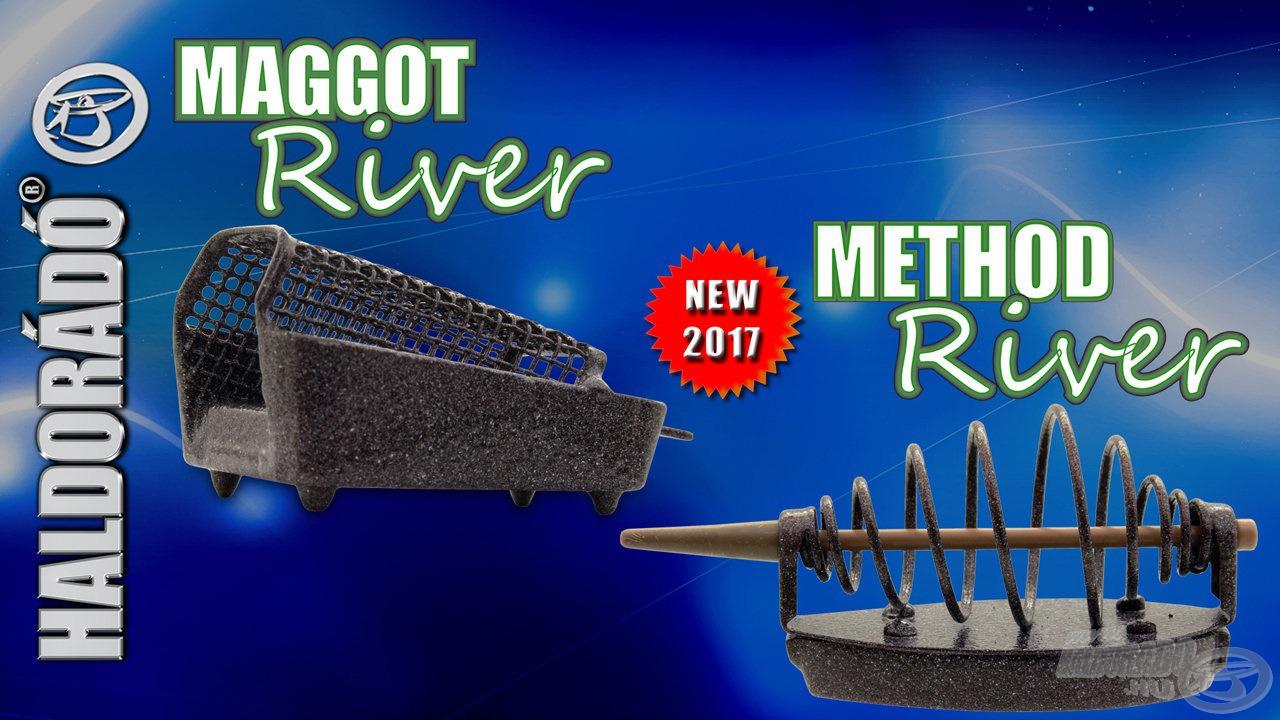 A Maggot River és a Method River a folyóvízi horgászatokhoz kínál praktikus megoldásokat