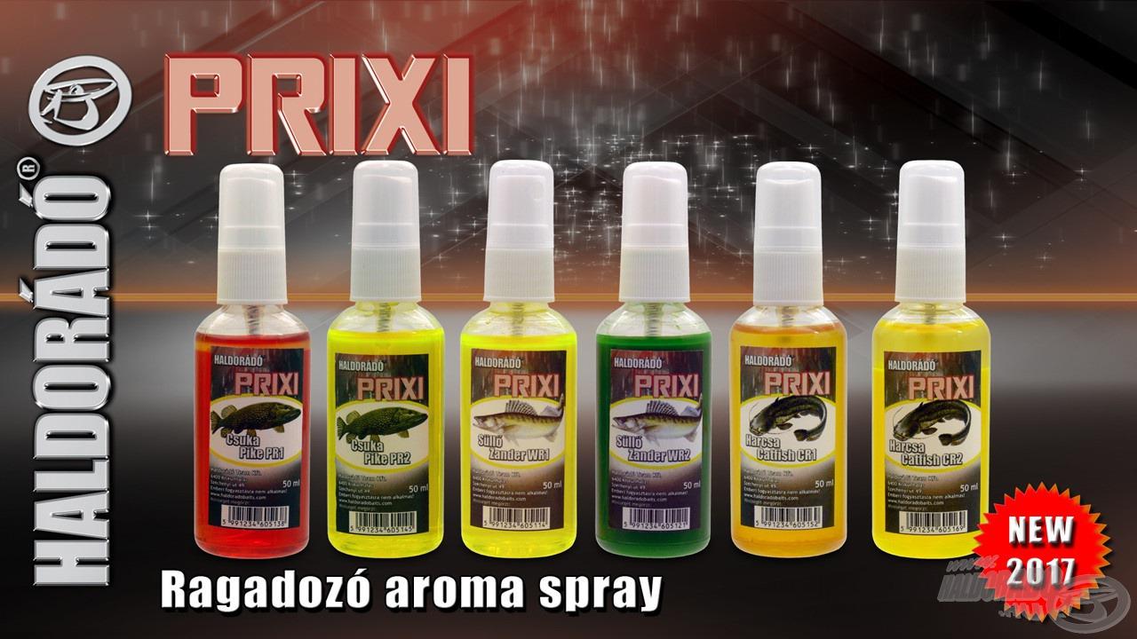 Az új generációs Haldorádó PRIXI aromacsalád hazánk három fő ragadozó halfajára specializálódva, 6 különböző ízváltozatban kerül forgalomba