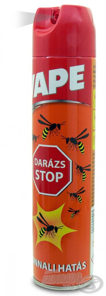 Ha a darazsakkal meggyűlt a bajunk, használjuk ezt a spray-t