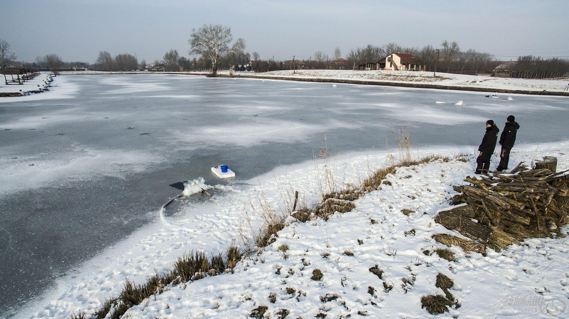 A biztonsági előírok betartása MINDIG a legfontosabb, egyedül SOHA ne menjünk léki horgászatra!