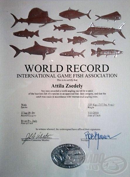Sőt egy másik kategóriában is rekordnak bizonyult, bár ez az elsőből egyenesen következik