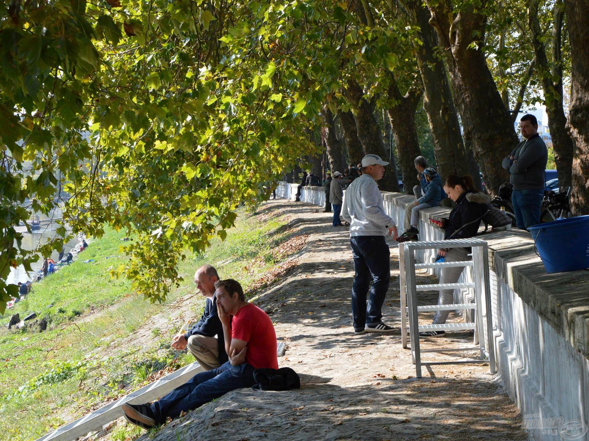 A verseny legnagyobb eredménye az, hogy meglepően sok néző látogatott ki a Duna-partra