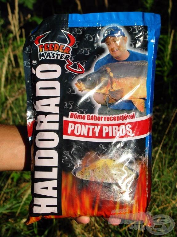 Haldorádó Feeder Master Ponty Piros olyan univerzális pontyos etetőanyag, amely bármely vízterületen eredményesen használható