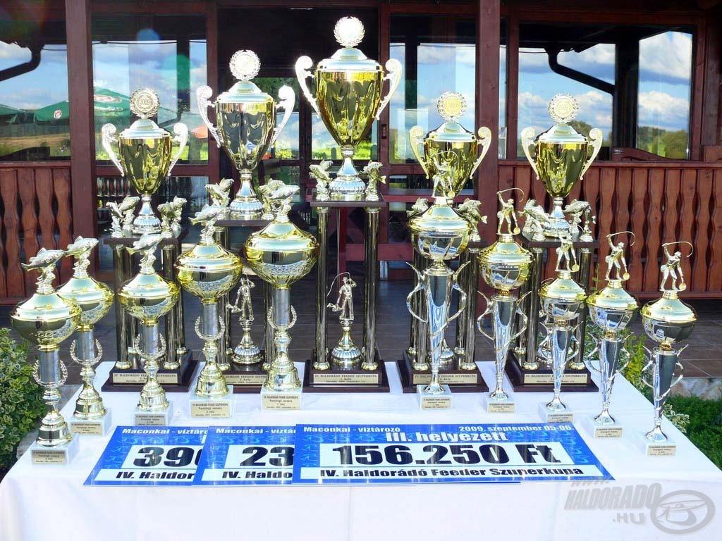 Értékes kupákért és készpénznyereményekért folyt a küzdelem a két versenynapon
